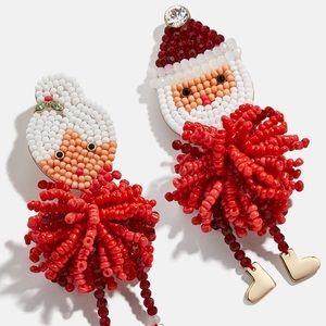 Baublebar Mr. Mrs. Santa Claus Earrings